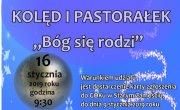 """Zaproszenie na XII Gminny Koncert Kolęd i Pastorałek """"Bóg się rodzi"""""""